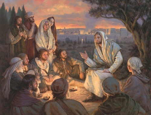 Matthew 24 and 25: The Lord's Answer to His Disciples Question Concerning Things to Come